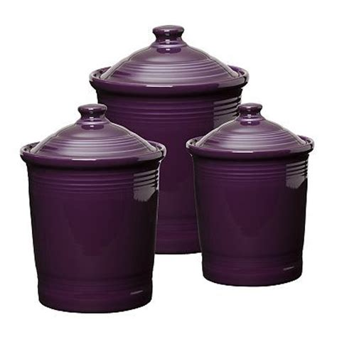 purple kitchen canisters 199 best fiesta 174 homer laughlin china canisters jam