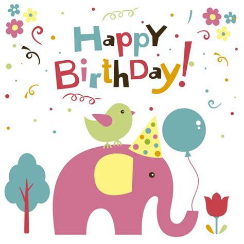 Elephant Birthday Card