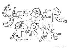 slumber party on pinterest spa party slumber parties