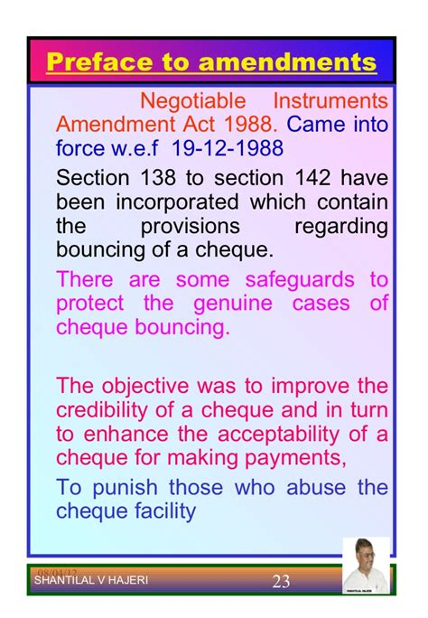 section 138 cheque bounce negotiableinstrumentsact hajeri