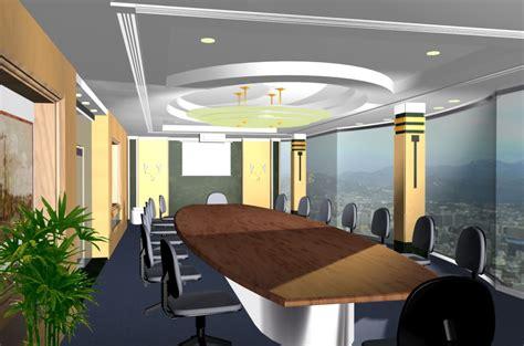 desain ruang rapat  ideal pulat