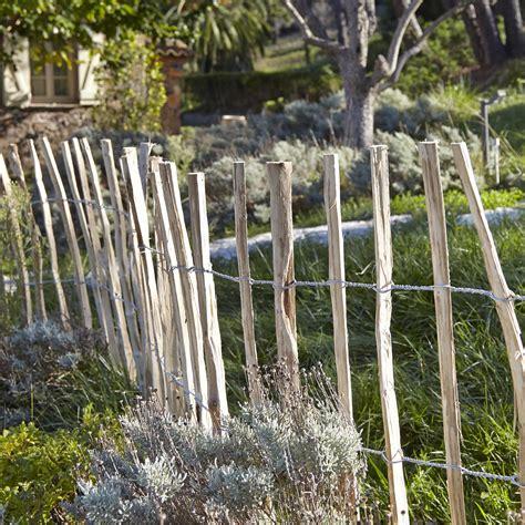 Image Cloture Bois by Cl 244 Ture Bois Bois H 100 X L 500 Cm Leroy Merlin