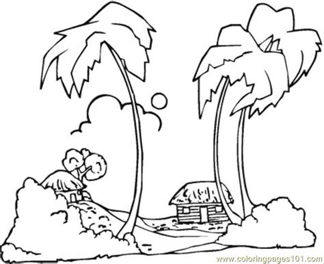 coloring pages hawaii hawaiian tree coloring pages coloring pages