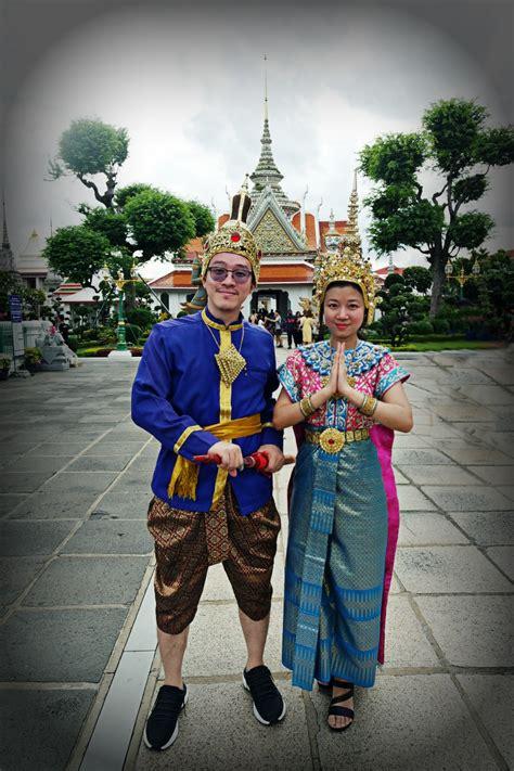Cold Baju Dress Bangkok Bkk nana where ideas come to thailand traditional costume dress up in bangkok