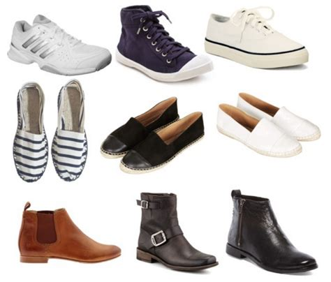 the principles of a practical minimalist shoe wardrobe