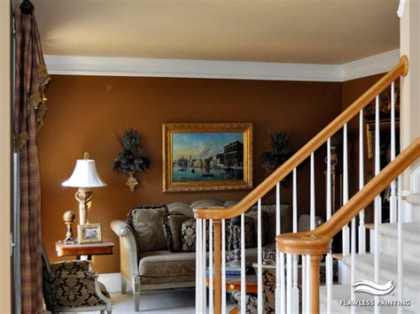 interior painting in a warm rich color palette traditional other metro by flawless painting