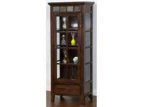 Curio Cabinet Ideas Designs Living Room Santa Fe Curio Cabinet 2253dc Seaside Furniture Toms River Brick