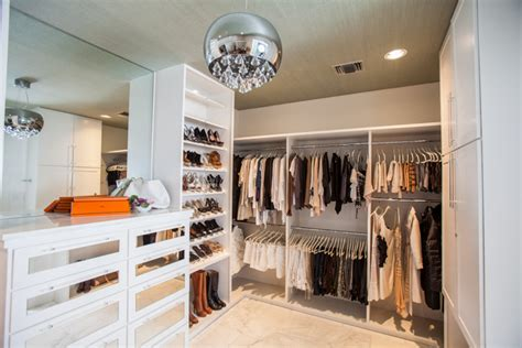 In Closet Hermes by White Walk In Closet With Hermes Orange Accents And