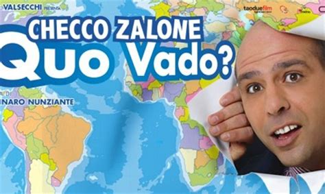 film streaming quo vado checco zalone quo vado nuovo film di checco zalone streaming boom per