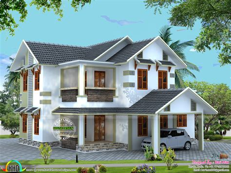 vastu house designs vastu kerala home design vastu compliant sloping roof house kerala home design