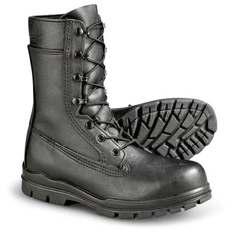 womens tactical boots s bates 174 u s navy steel toe duty boots black