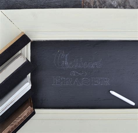 chalk paint eraser chalkboard eraser country design style