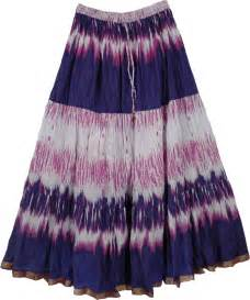 Jewelry That Makes A Difference - cotton printed long skirt blue pink clothing sale on bags skirts jewelry at polkadotinc com