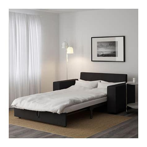 futon klappbett vilasund two seat sofa bed dansbo grey ikea