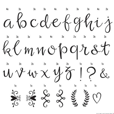 lettere alfabeto maiuscole da stare 85 letras manuscritas para lightbox una boda original