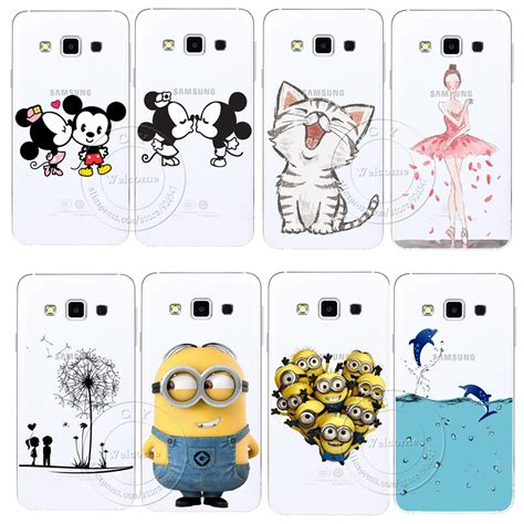 Samsung A5 A7 J5 J7 2016 Minion 3d Soft Casing Karakter Imut 1 etui plecki do samsung galaxy s3 s4 s5 mini s6 s7 edge note