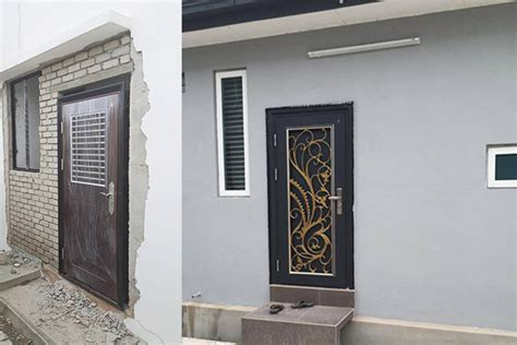 House Entry Designs by Security Door New Edge Safety Door Malaysia No 1