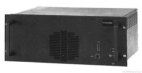 Power Lifier Dynacord dynacord dem 289 manual power lifier hifi engine