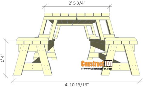 how to build a picnic table plans folding picnic table plans easy to build projects