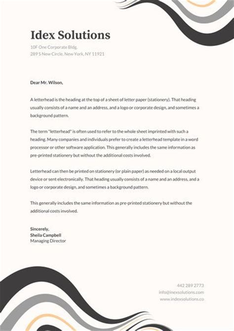 professional letterheads templates free fancy letterhead templates free printable letterhead