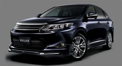 new sports speedicars toyota harrier new toyota harrier suv suits up for 2014 tokyo auto salon