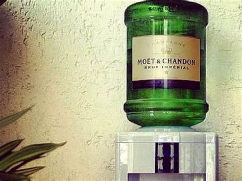 private label water cooler bottles moet chandon