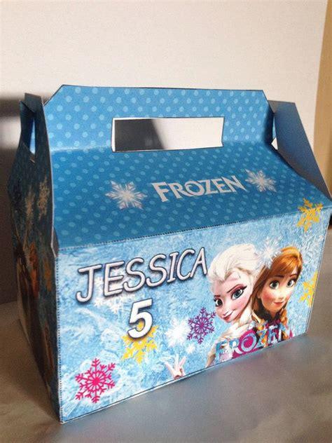 Frozen Treat Favor Box Diy Digital File On Etsy
