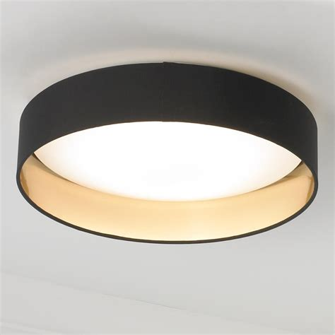 Gold Ceiling Lights Modern Ringed Led Ceiling Light Ceiling Lights And Colour Black