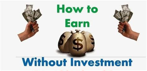 How To Make Money Online Investing - how to earn money online without investment by clicking ads earnworld