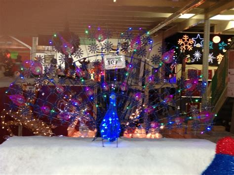 menards peacock christmas decoration christmas pinterest