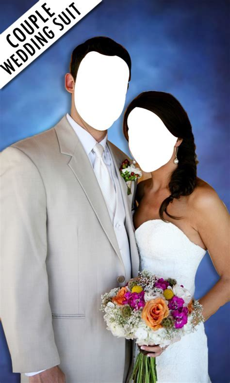 Couple Photo Wedding Suit   couple wedding photo montage