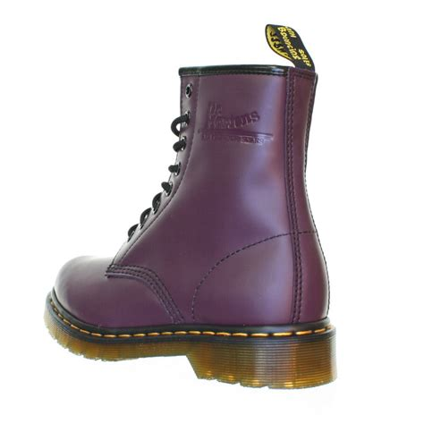 womens dr martens 1460 purple violet smooth lace up