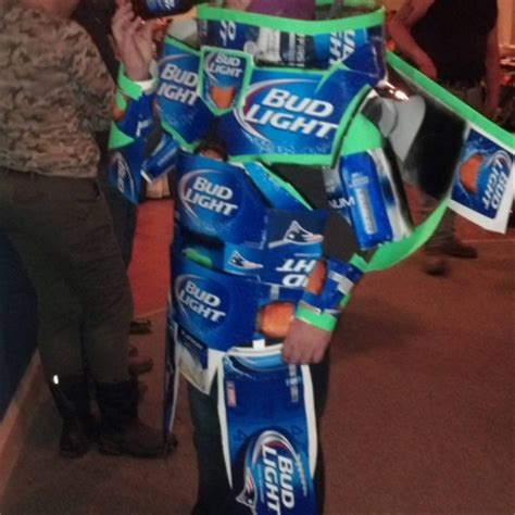 bud light costume gangsta sagging his gets a up in the