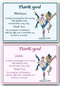 personalised thank you cards birthday party 18th 21st 30th