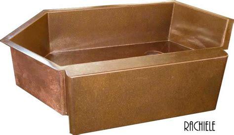 bowl corner kitchen sink single bowl corner kitchen sinks rachiele copper and