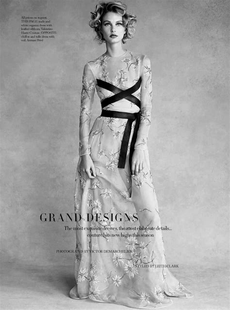 grand designs: patricia van der vliet by victor
