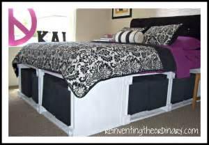 Platform Bed With Storage Diy Diy Platform Bed With Storage Drawers Plans Discover