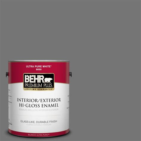 behr paint colors mountain behr premium plus 1 gal n520 5 iron mountain hi gloss