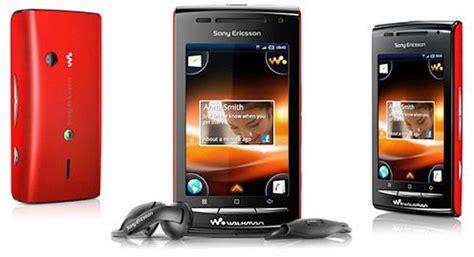 Handphone Sony W8 sony ericsson w8 walkman e16i rian cocolate