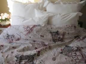 College dorm bedding the oldest world map print duvet cover