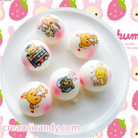 Cutiecreative Mini Bun mini rilakkuma themed blush marshmallow buns