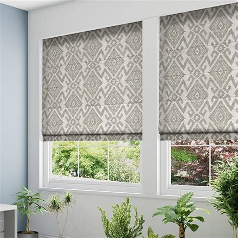 black patterned roman shades roman blinds by tuiss 174 luxury made to measure roman