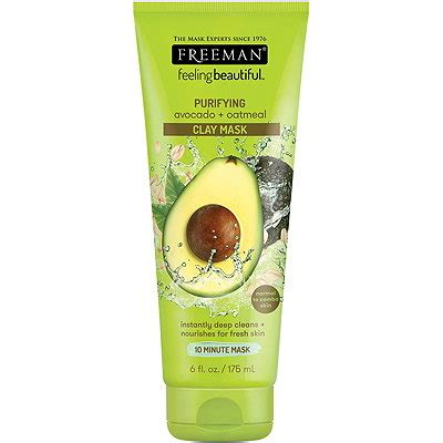 Freeman Pueifying Avocado Oatmeal Mask avocado oatmeal clay mask ulta