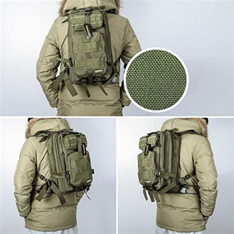 small molle pack eyourlife tactical backpack small rucksacks
