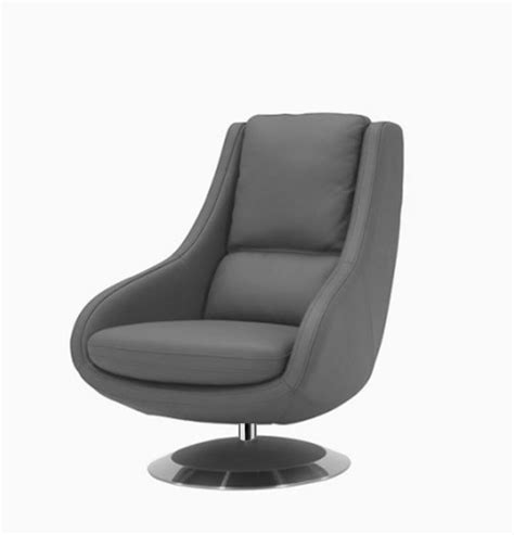 grey leather chaise lounge a588 modern grey leather lounge chair lounge chaise
