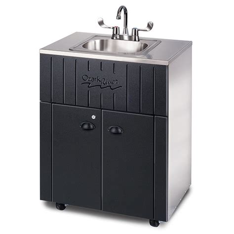 portable sinks for daycares ozark river 174 outdoor portable water sink with