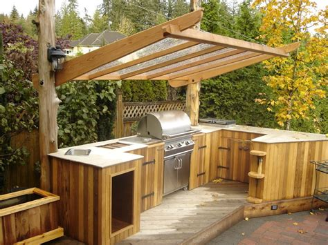 outdoor kitchen bbq plans