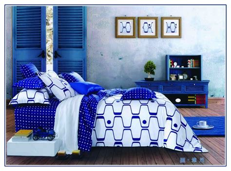 royal blue bed set hot popular european style microfiber royal blue paisley