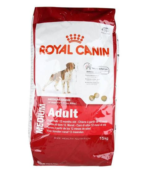 Royal Canin Meduim royal canin medium 15 kg buy royal canin medium 15 kg at low price snapdeal