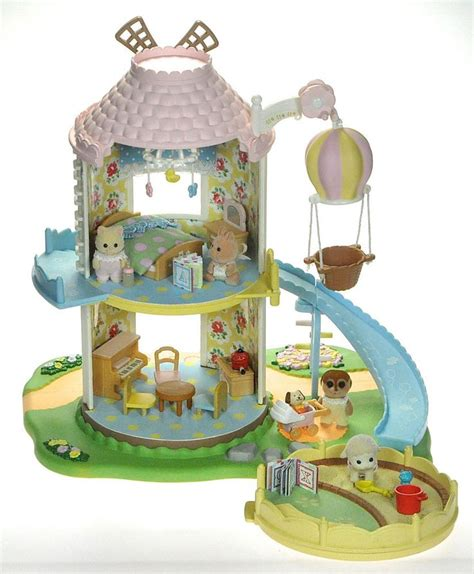 Summer Set 2in1 I4 fistuff sylvanian families decorated baby windmill house figures lots sylvanian families
